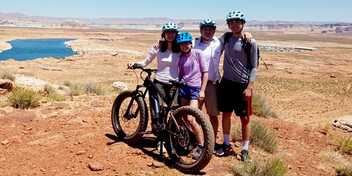 Electric Mountain Bike Tour in Lake Powell, Page Arizona