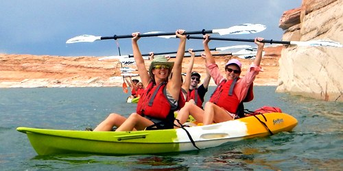 Antelope Canyon Kayak Tour in Lake Powell